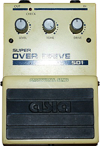 АЗИЯ - SD1 Super Over Drive
