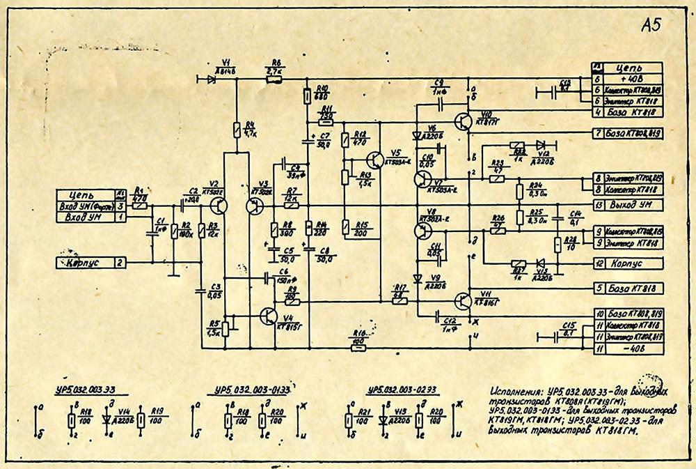 Схемы ФОРТЕ 602