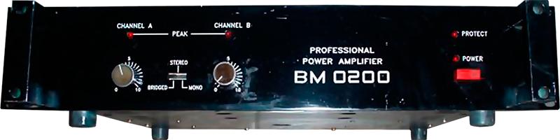 Схема усилителя ЛЭМИ ВМ 0200