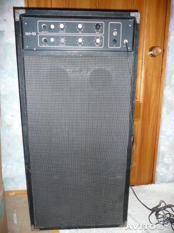Схема гитарный комбо-усилителя
